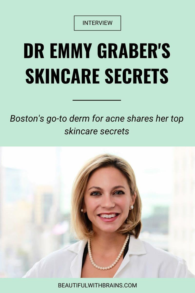 dr emmy graber skincare interview