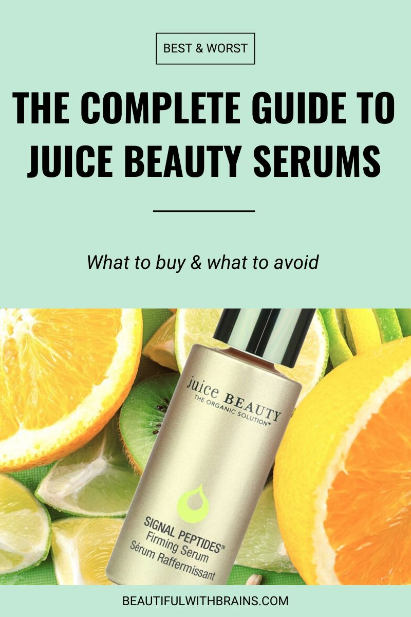 juice beauty serums guide