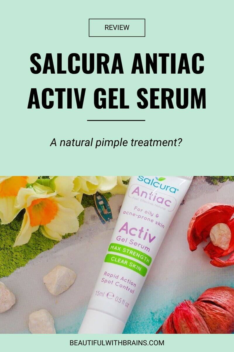 salcura antiac activ gel serum review