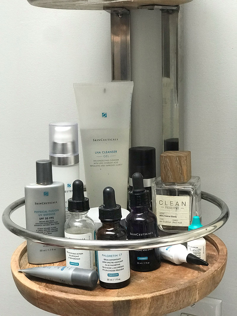 Sarah sinden-lafleche skincare products
