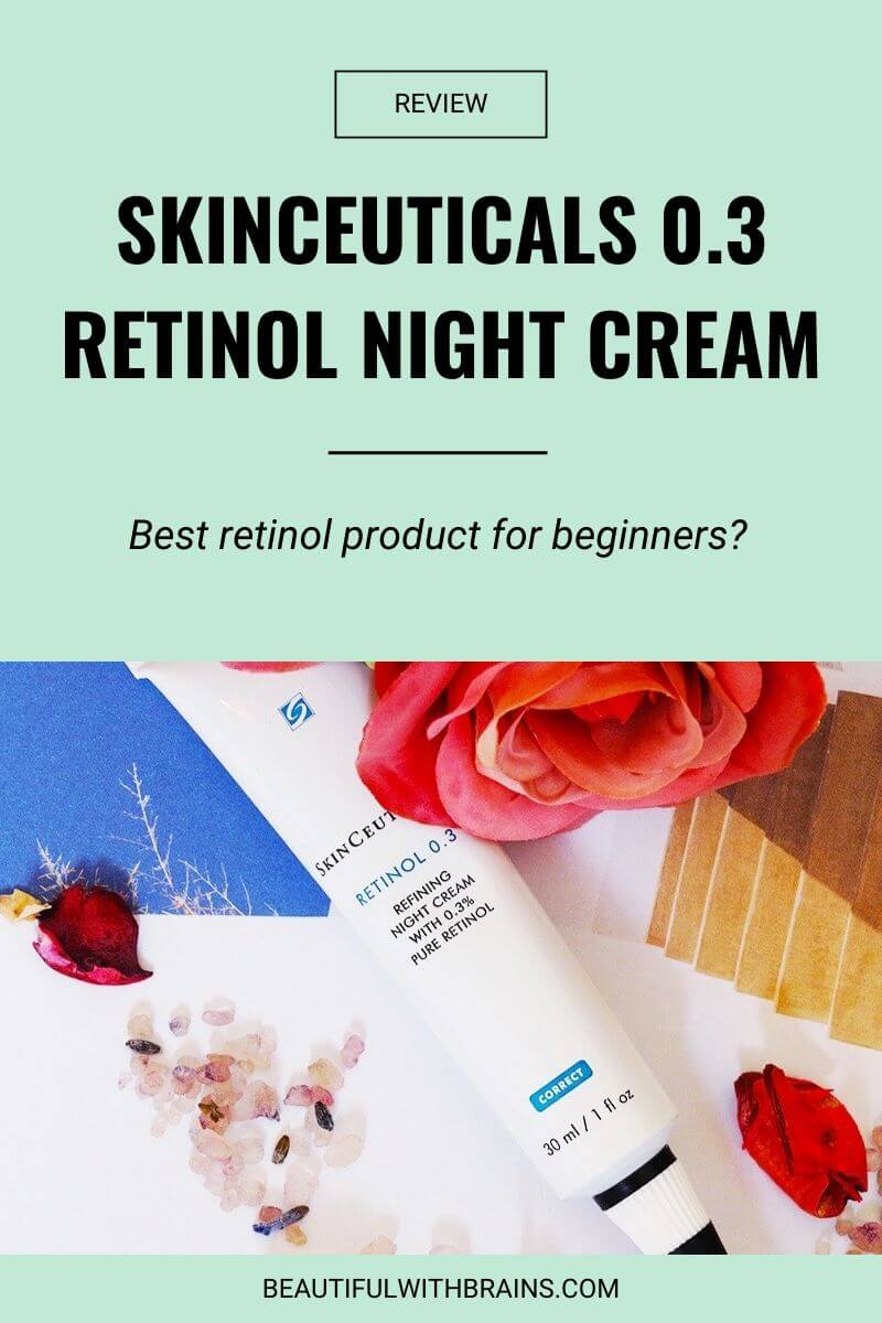 skinceuticals 0.3 retinol refining night cream review