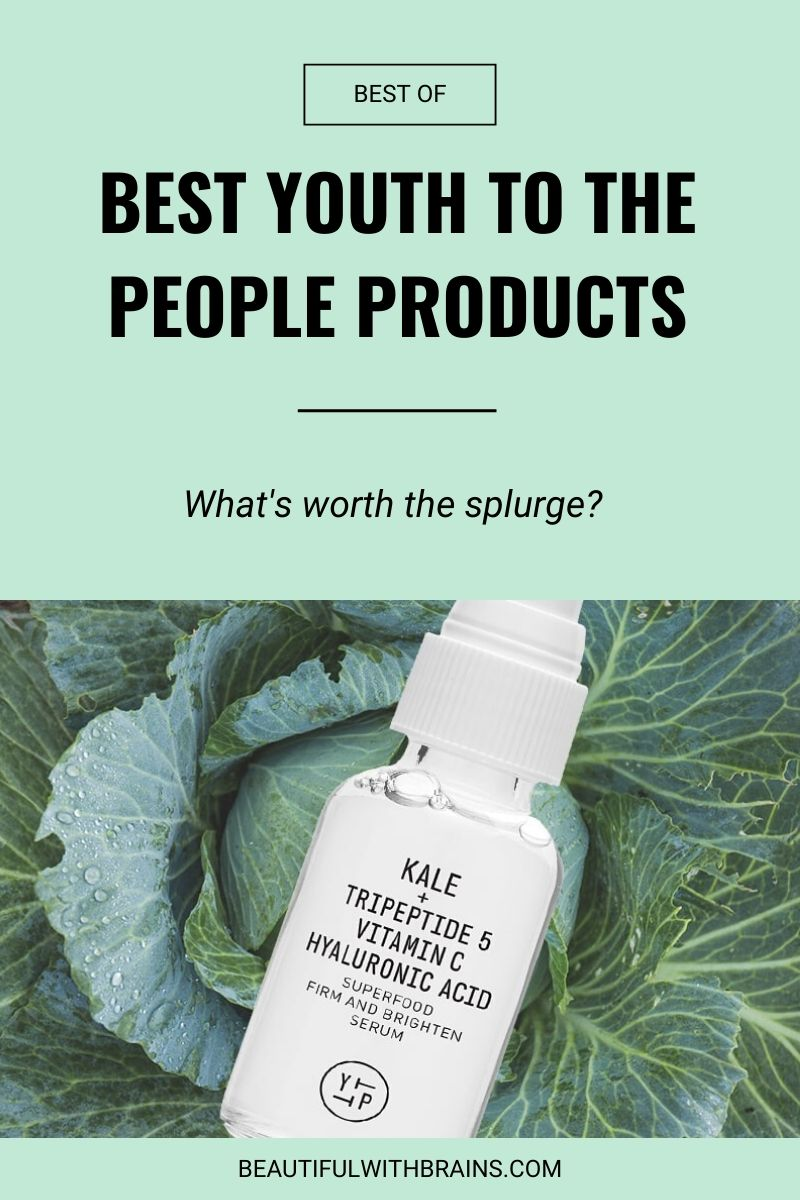 the best youth to the people skincare products