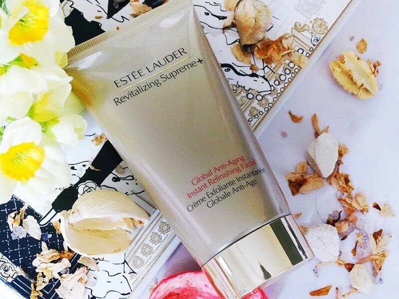 estee lauder revitalizing supreme global anti-aging instant refinishing facial