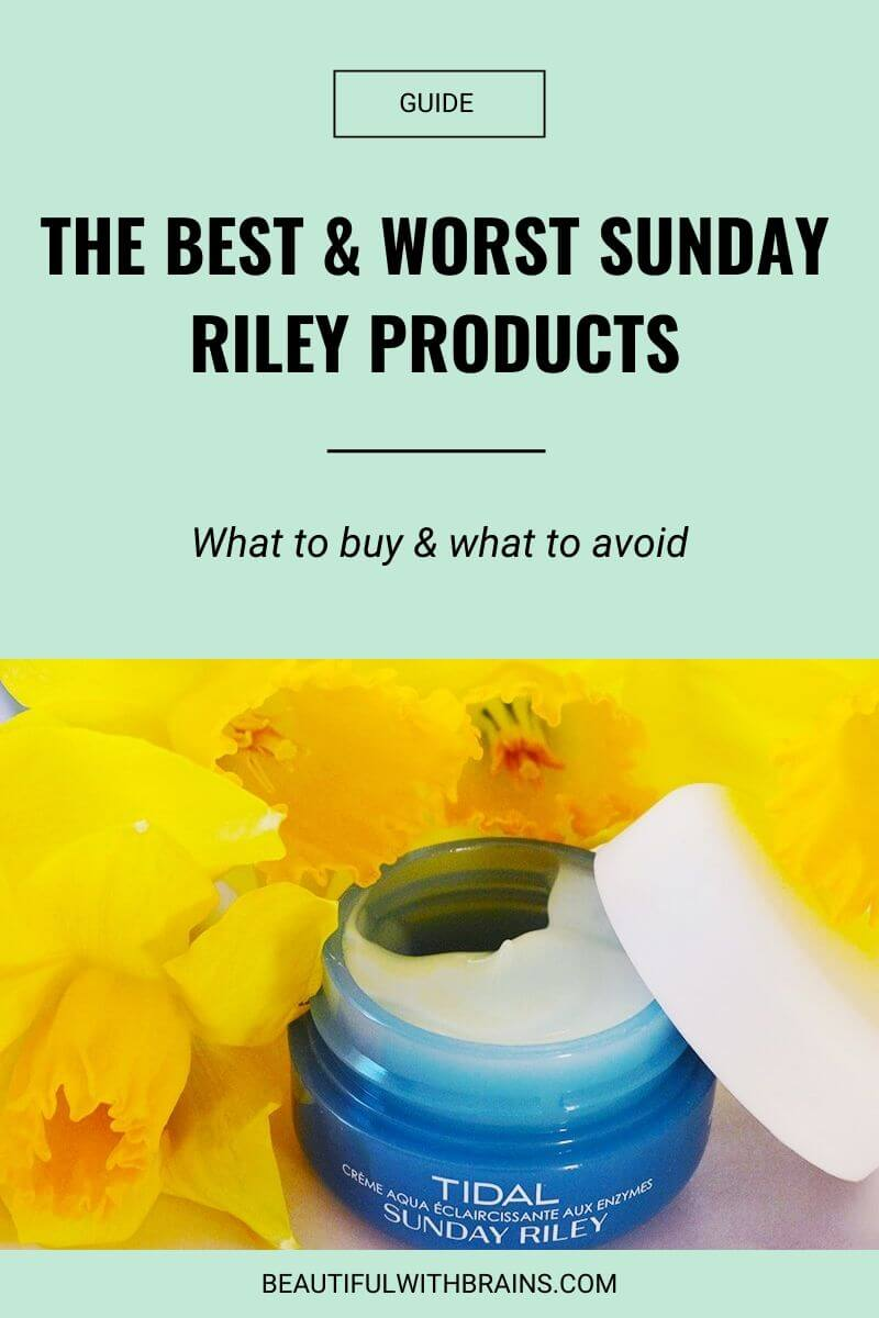 best and worst sunday riley products