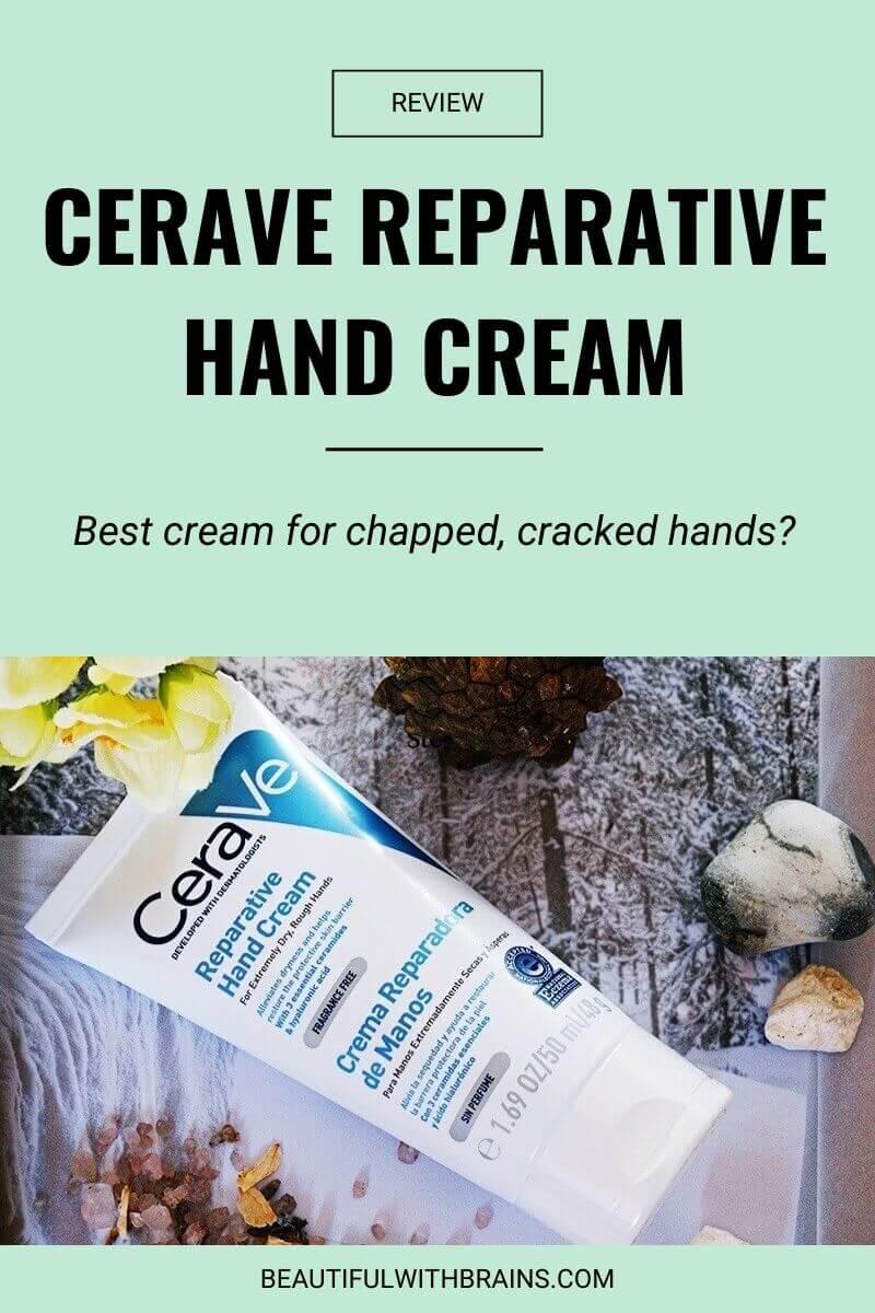 cerave reparative hand cream review
