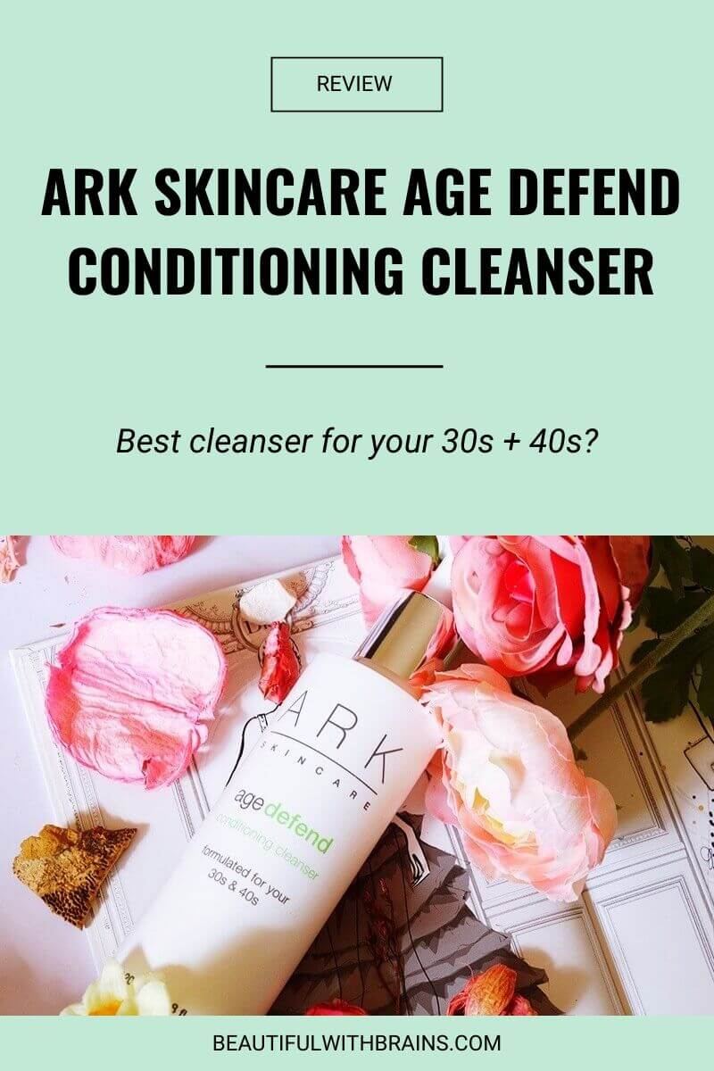 ark skincare age defend conditioning cleanser review