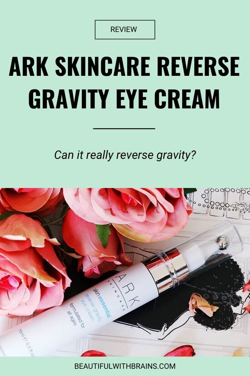 ark skincare reverse gravity eye cream review