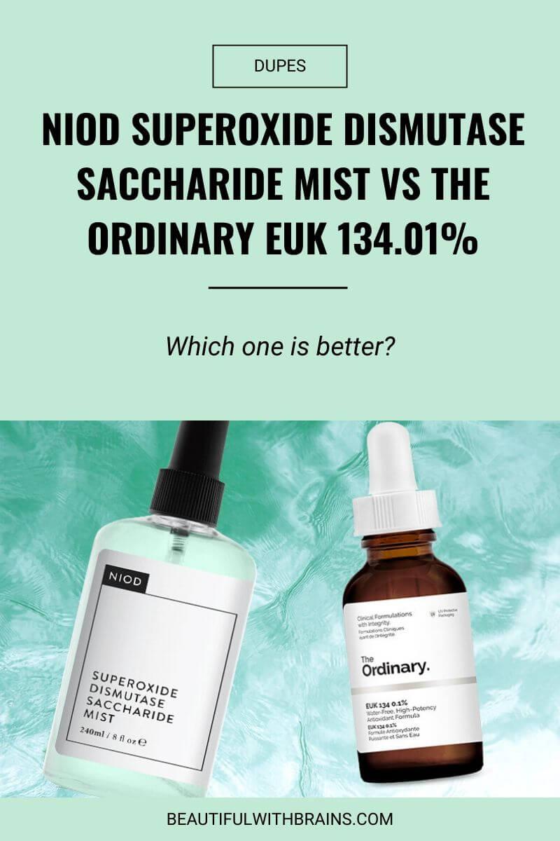 dupe for niod superoxide dismutase saccharide mist