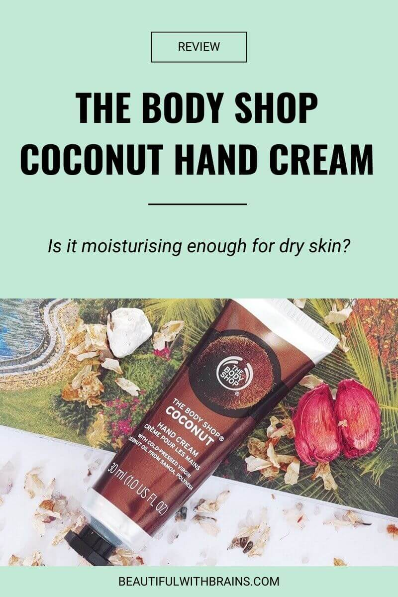 the body shop coconut hand cream review