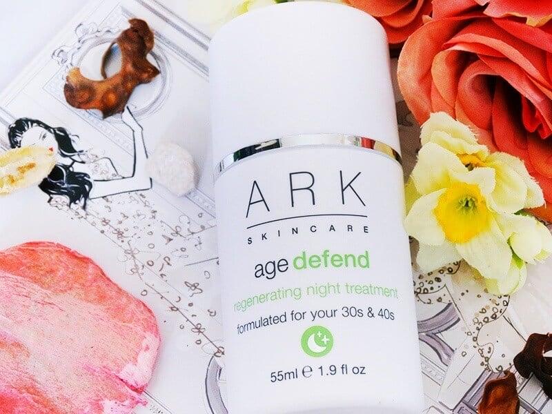 ark skincare age defend regenerating night treatment