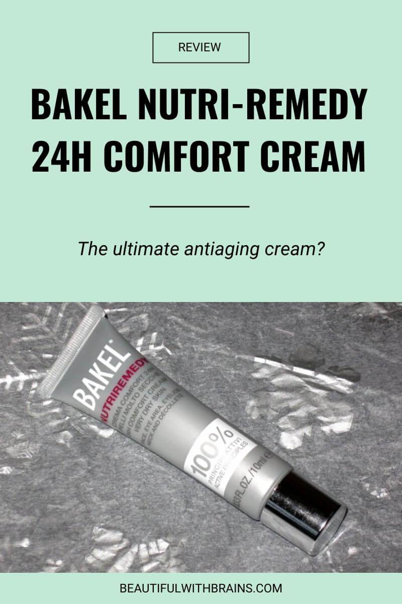 bakel nutri-remedy 24h comfort cream review