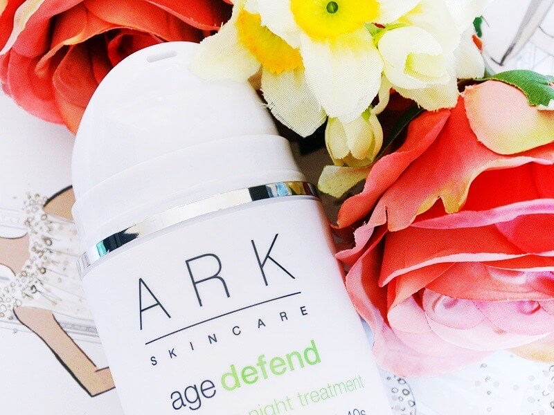 review ark skincare age defend regenerating. night treatment