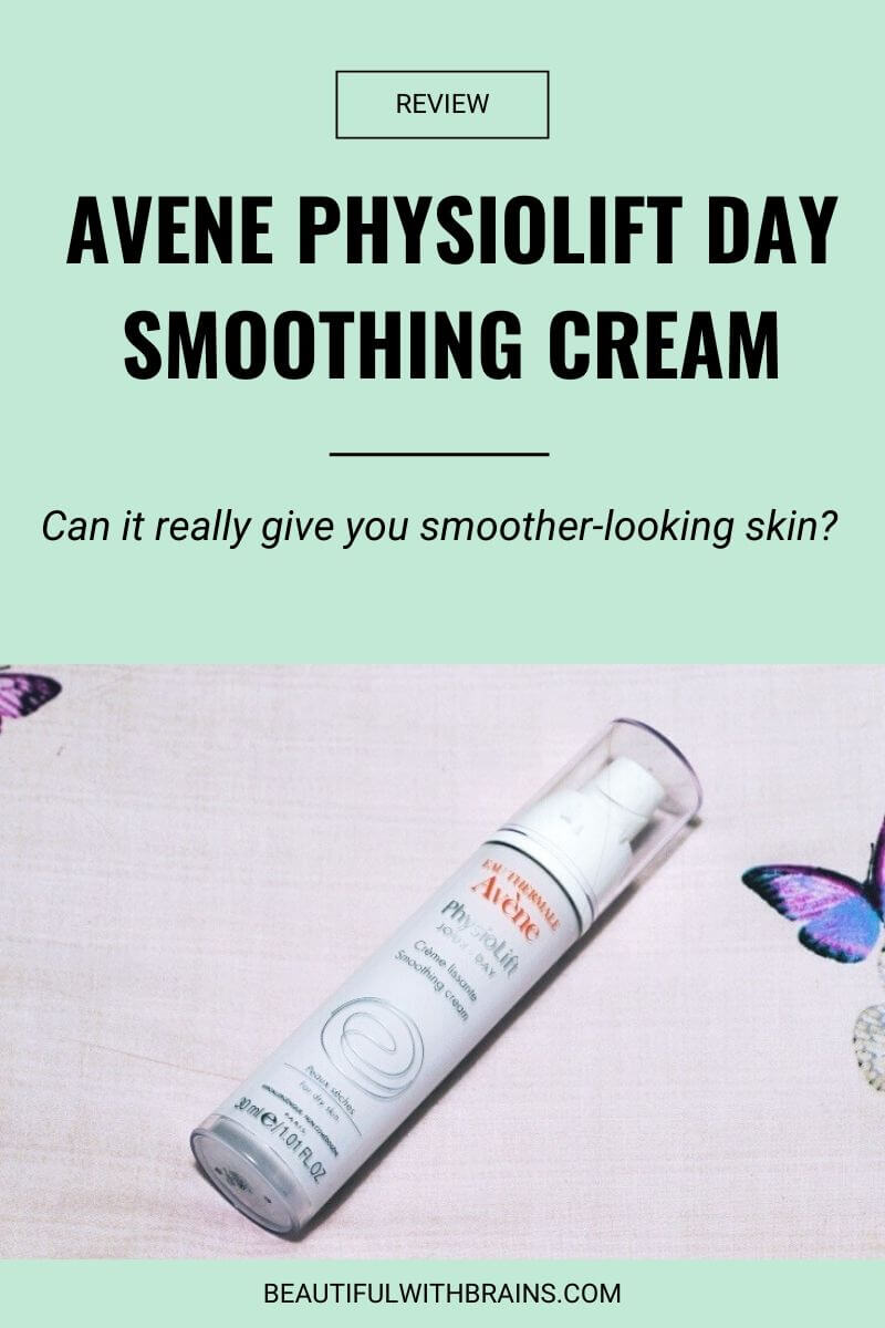 review avene physiolift day smoothing cream