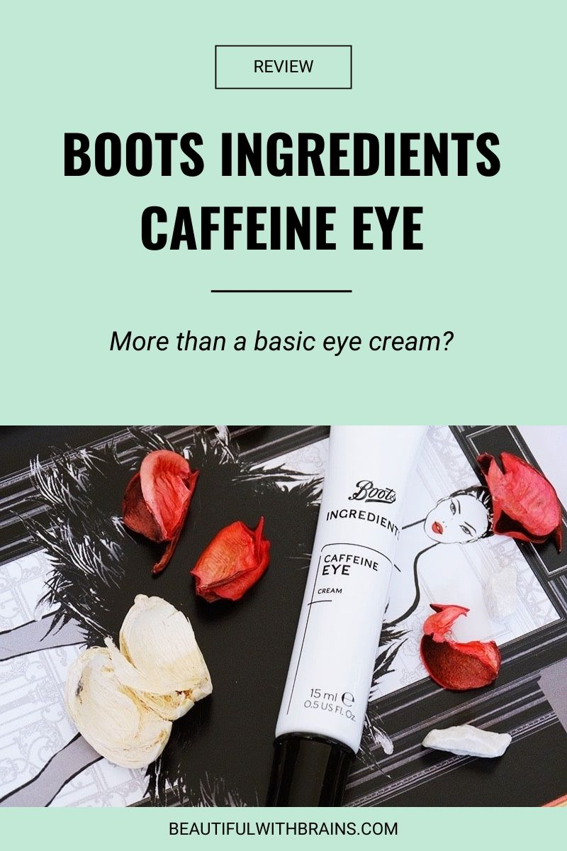 Boots Ingredients Caffeine Eye review