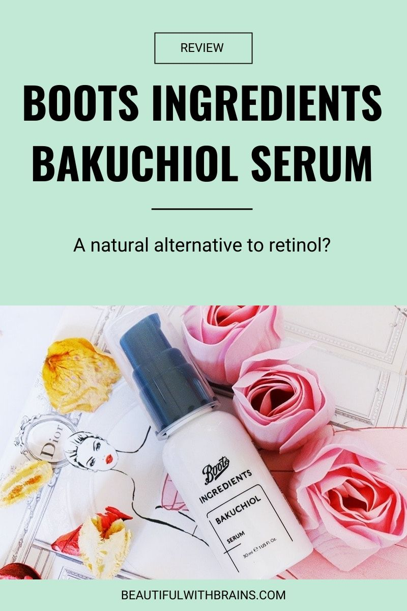 boots ingredients bakuchiol serum review