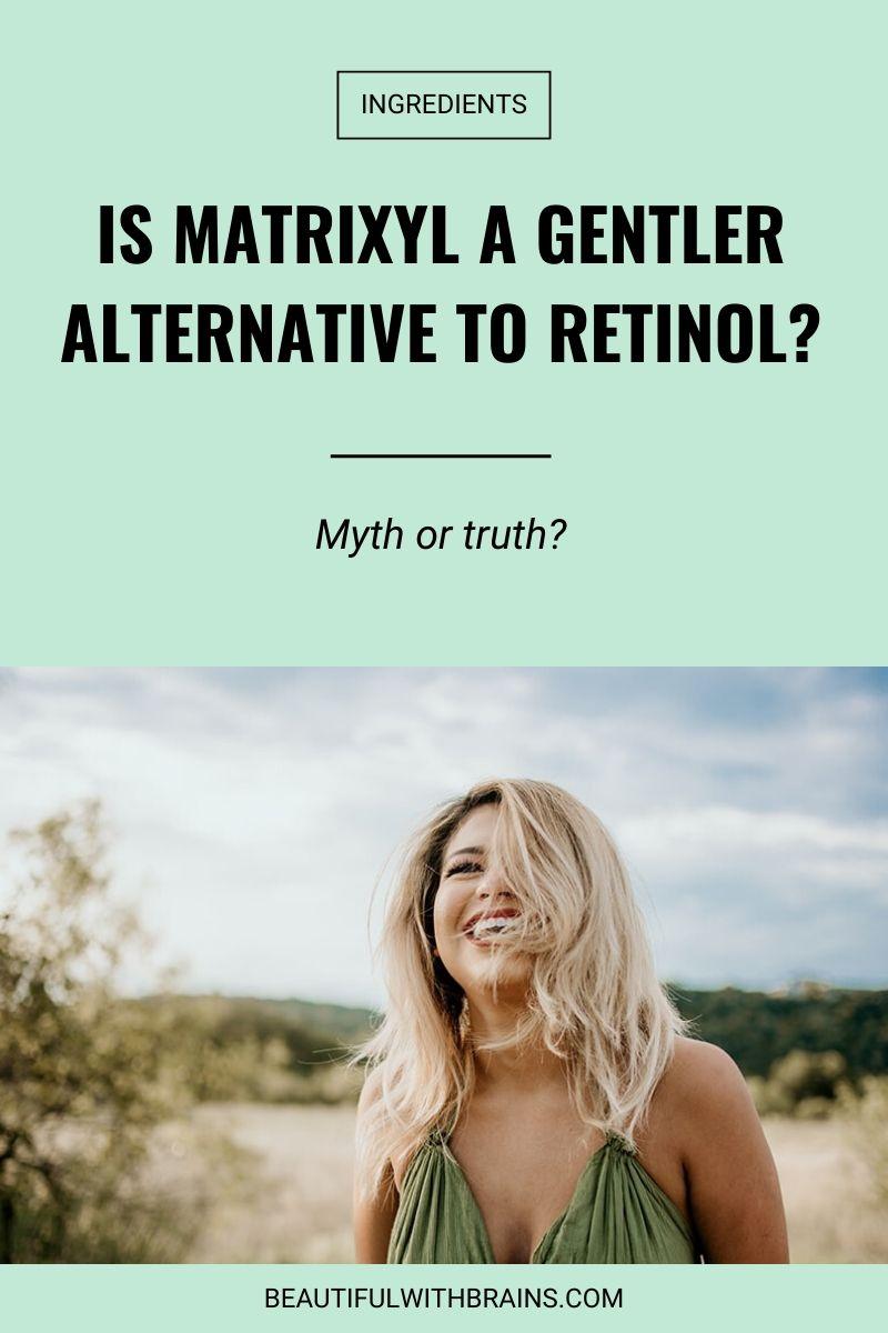 is matrixyl an alternative to retinol