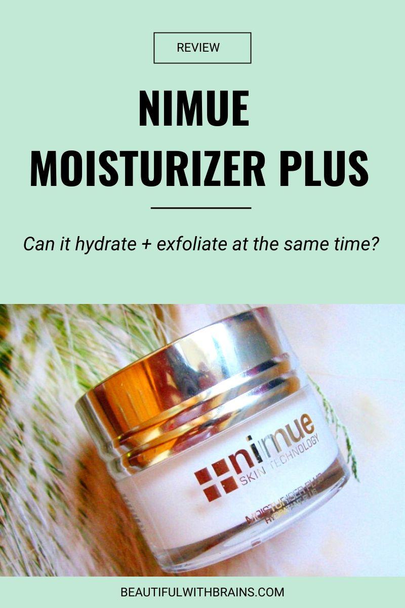 nimue moisturizer plus review