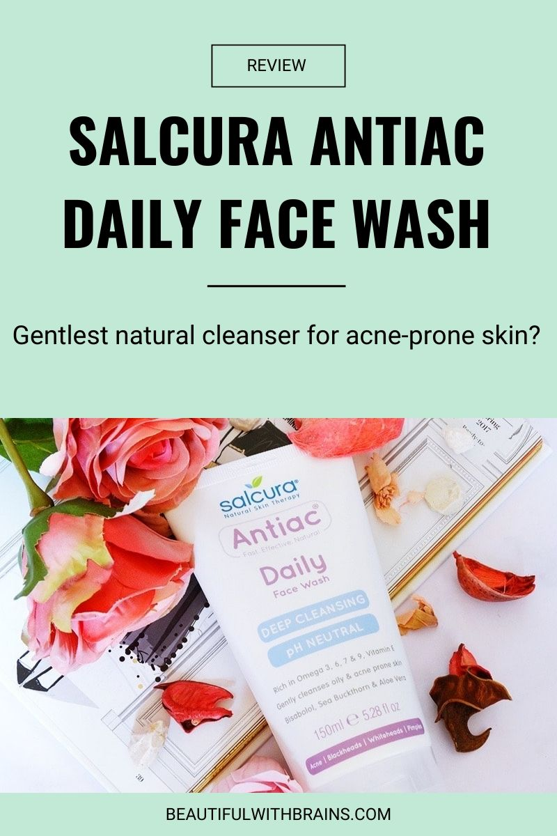 salcura antiac daily face wash review