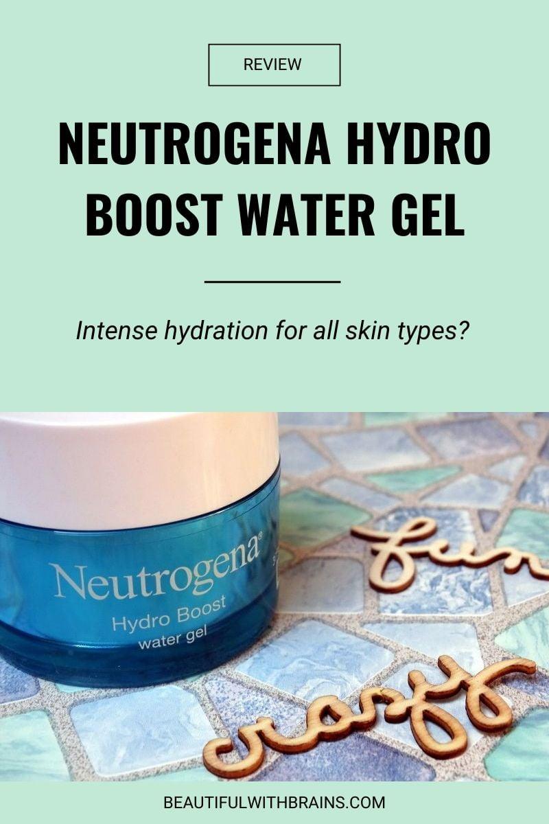 Neutrogena Hydro Boost Water Gel review