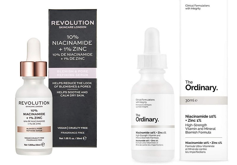 The Ordinary Revolution Niacinamide Zinc dupe