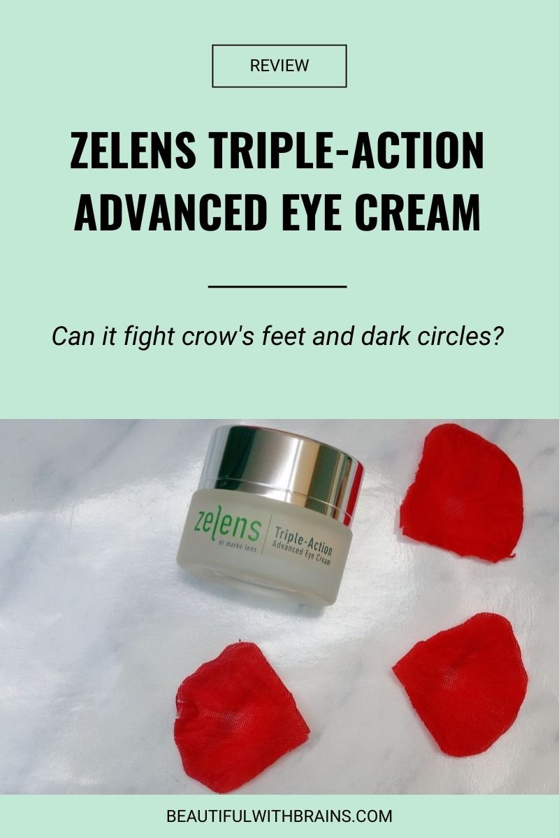 Zelens Triple-Action Advanced Eye Cream review