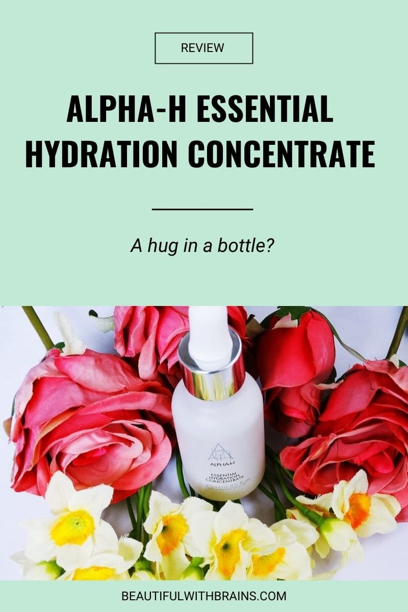 alpha h essential hydration concentrate review