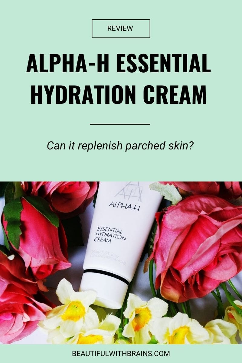 review alpha-h essential hydration cream