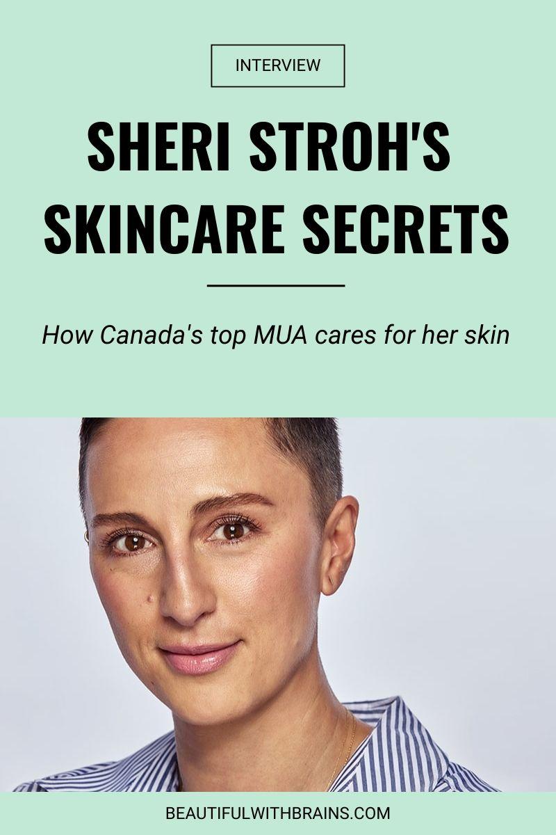 sheri stroh skincare interview