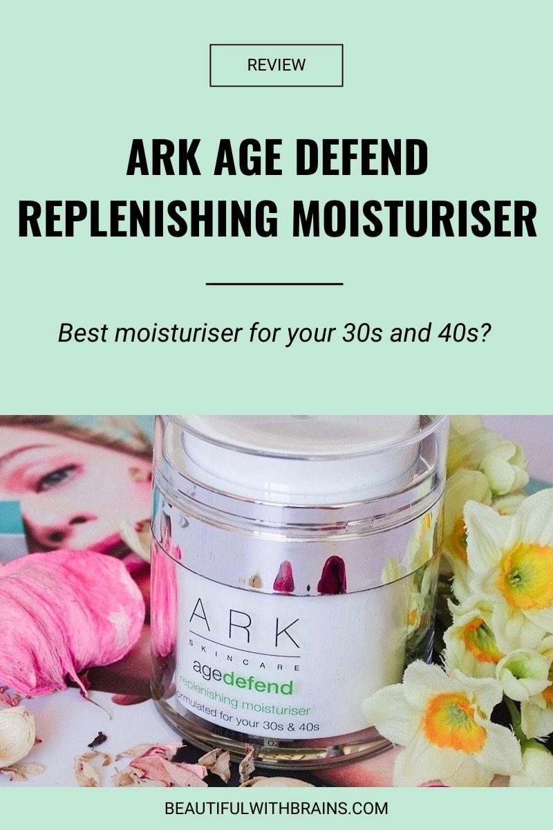 ark age defend replenishing moisturiser