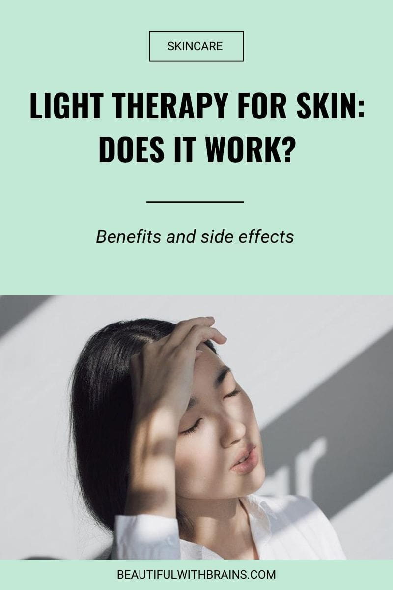 light therapy for skin benefits