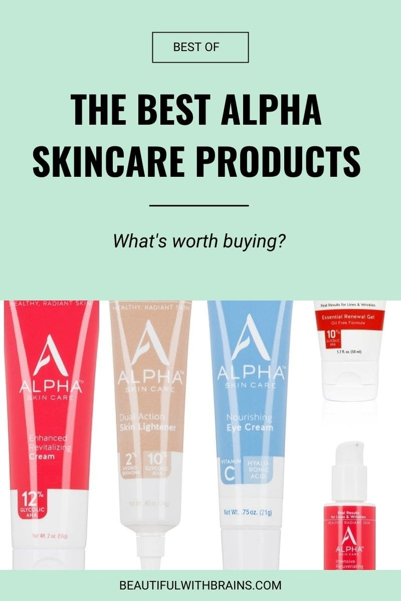 the best alpha skincare products