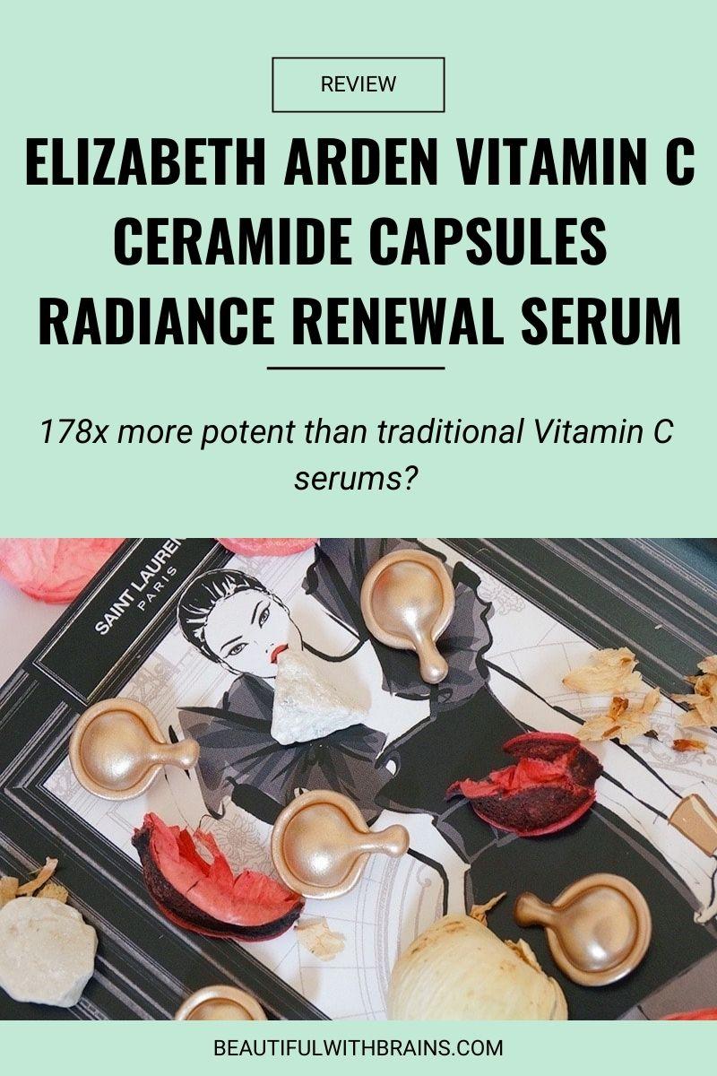 Elizabeth Arden Vitamin C Ceramide Capsules Radiance Renewal Serum review