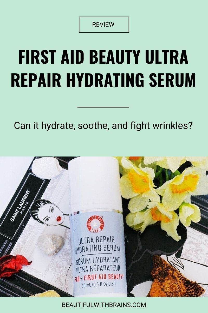 First Aid Beauty Ultra Repair Hydrating Serum review