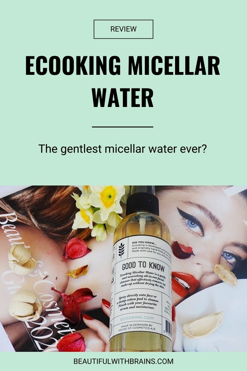 ecooking micellar water review