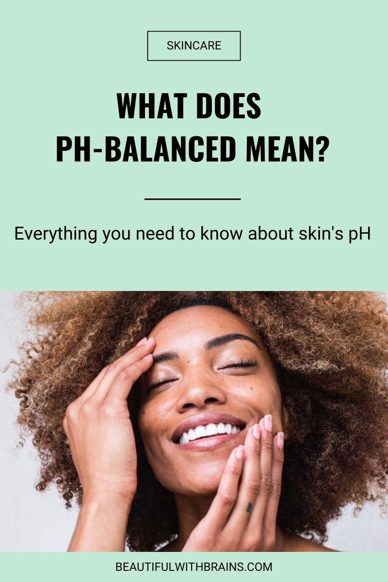 skin ph meaning