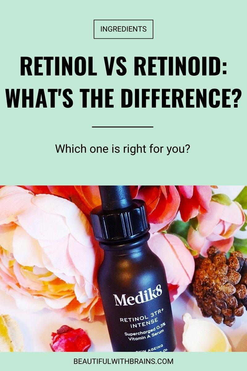 Retinol VS Retinoid -What's The Difference?