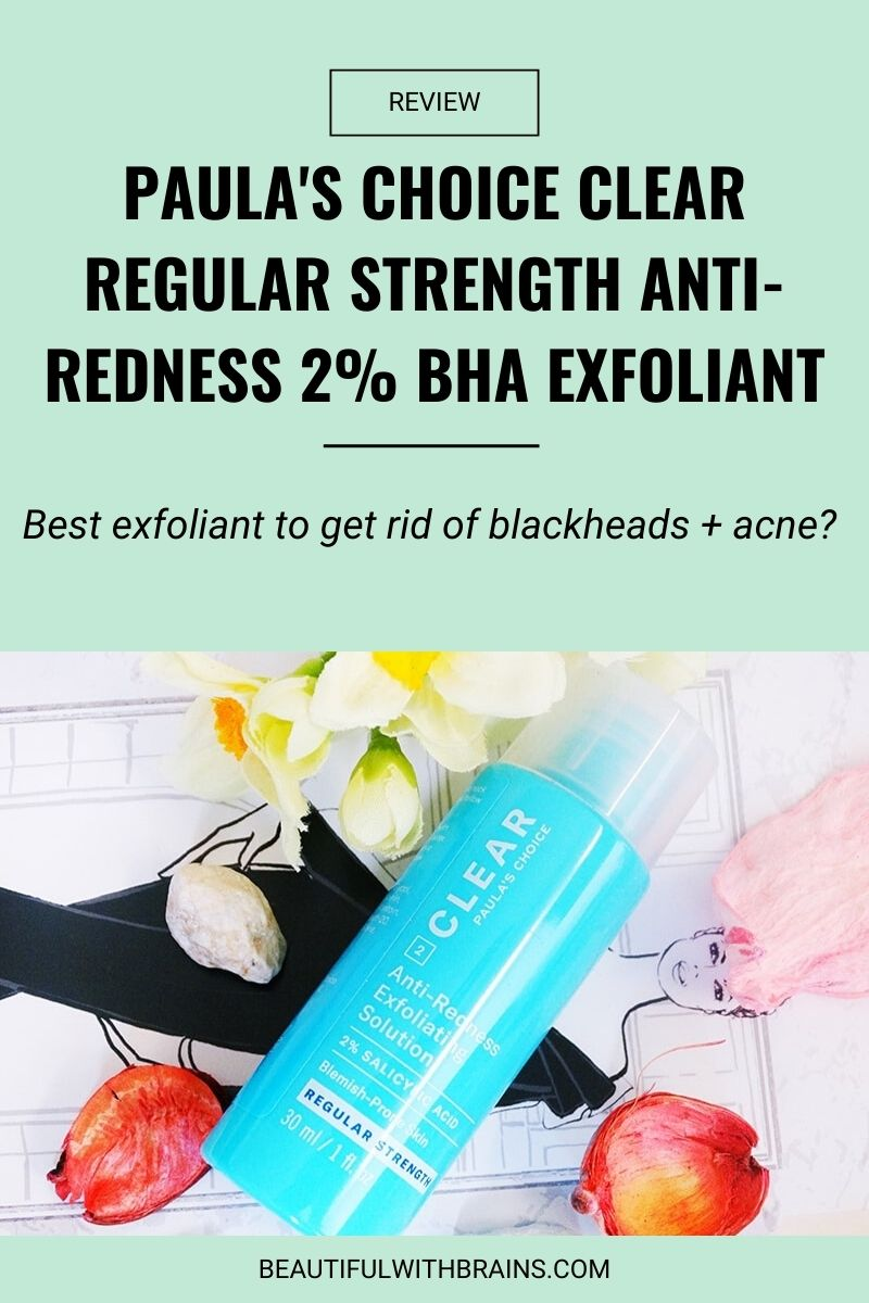 Paula's Choice Clear Regular Strength Anti-Redness 2٪ BHA Exfoliant