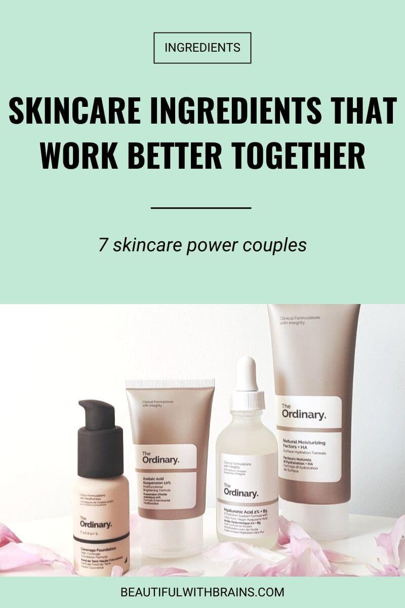 best skincare ingredients combinations